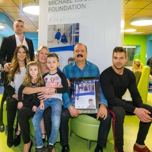 Michael Cuccione Foundation Playroom Officially Opens at the Teck Acute Care Centre