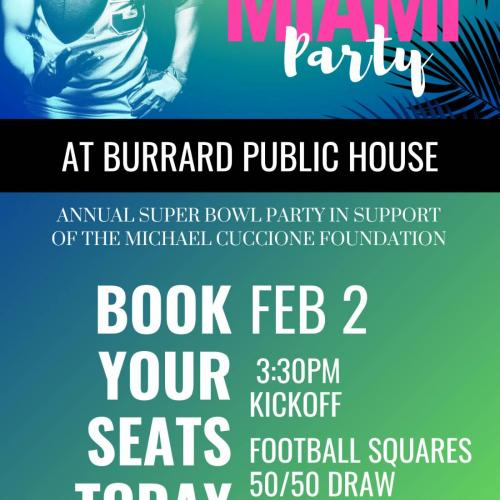 Super Bowl LIV Miami Party